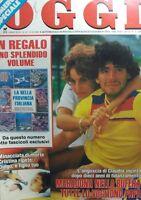 OGGI N.41 1986 MARADONA
