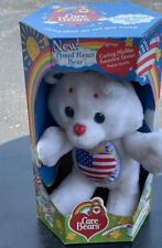 """Kenner Care Bear Proud Heart Plush Stuffed Animal 12"""" Vintage New With Box"""