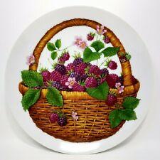 Summer Fruit Avon Plates by Avon 1985 Collector Plate