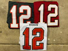 NWT Tom Brady #12 Tampa Bay Buccaneers Men's Stitched Red/Black Jersey