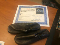ORIGINAL STUDIO MOVIE PROP PLANET OF THE APES  WITH COA LEATHER APE SHOES
