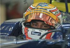 "Felipe Nasr ""Sauber 2015"" Autogramm signed 20x30 cm Bild"