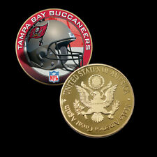US Commemorative Coin TAMPA BAY BUCCANEERS Team Color Coin for Fans Collections