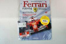 Kyosho DeAgostini Kit Ferrari F2004 / F1-04057 mit Heft OVP Ausgabe Nr.57