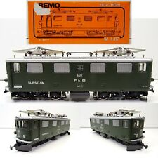 BEMO H0m Schmalspur 1250 E-Lok Ge 4/4 Rh B 607 Surselva TOP/OVP C3437