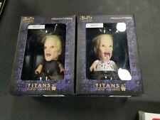 Spike Buffy The Vampire Slayer Titans Vinyl Figure Horror & Nerd Block Excl. Dmg