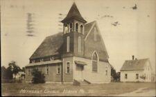 Hiram ME Methodist Church Real Photo Postcard