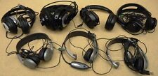 Batch of 7 damaged headphones gaming headsets