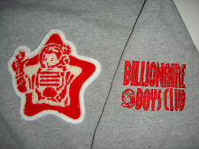 bbc STAR PATCH CLASSIC LOGO Full Zip Hoodie billionaireboys club tee jacket M