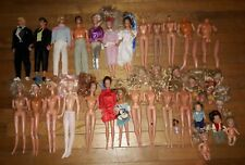 Huge Vintage Barbie Ken Dolls Parts Pieces Lot Mattel Hasbro twist n turn