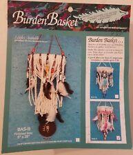 Pink Burden Basket Beaded Hanger Native Southwestern Craft Kit Mac Enterprises