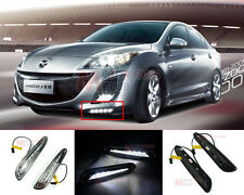 LED Daytime Running Light DRL Day Fog Head Lamp for Mazda 3 2010 2011 2012 2013