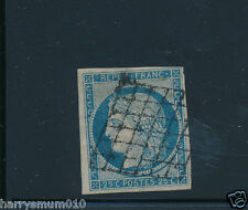 France stamp  1849  25c used mounted  SB2