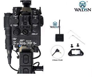 WADSN ModButton Lite Rail Mount Pressure Switch for PEQ Laser 2.5mm - BLACK