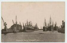 Alexandra Docks Newport Philco Shipping Postcard, B993