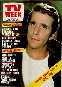 TV Week Magazine - July 24, 1976 - Rare 1970s Australian Television Mag