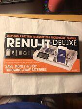 Renu-It Deluxe Battery Regenerator & Phone/Tablet Charger New