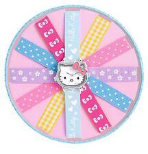 Hello KITTY orologio nastri colorati Set HK028