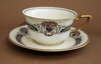 Vintage Rosenthal Bavaria ORELAY Ivory Flat Cup & Saucer Set