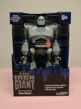 The Iron Giant Warner Bros 14� Light & Sound Motorized Walking Motion New