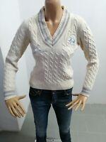 Maglione LA MARTINA Donna Sweater Woman Pull Femme Taglia Size XS Lana 8321