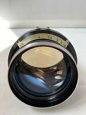"Kodak Aero Ektar 7"" F-2.5 Large Format Ariel Vintage Camera Lens"