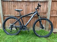 """Matte Black Mountain Bike/Bicycle 26"""" MTB Front Suspension (FREE UK DELIVERY)"""