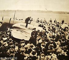 AVIACIÓN JAPÓN FOTOTIPIA Raid TOKIO LONDRES 1937 IHINOUMA TSUKAKOSHI +artículo