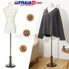 Female Mannequin Dressmaker Model 170cm Dummy Display Torso Tailor White