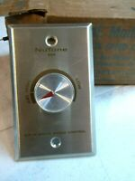 New/Old Stock Vintage NuTone Speed Control 864