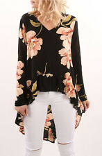 Maglia Autunno Donna Lunga Dietro Woman Long Sleeve T-Shirt Top 561029 P