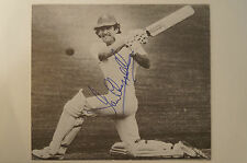 Cricket Collectable - Australian Test Captain Photocard - signed Ian Chappell
