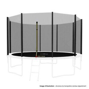 Filet de sécurité extérieur Universel pour trampoline - avec bouchons hauts de p