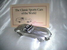 1963 Jaguar XK-E Roadster Danbury Mint Pewter New
