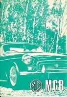 Mgb Owners Manual 1973 1974 Mg Drivers Guide Handbook Gt Mgb Gt Book