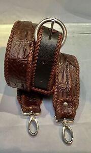 CROCODILE GuItar STRAP or bag shoulder belt Australian exotic unique music