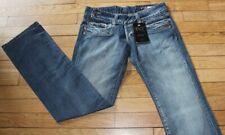 P&Y Denim Jeans pour Femme W 28 - L 32 Taille Fr 38 AUD NEUF (Réf #S286)
