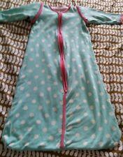 HEMA Baby Unisex Blue spot light Sleepbag (70cm) 0-6 Months approx.