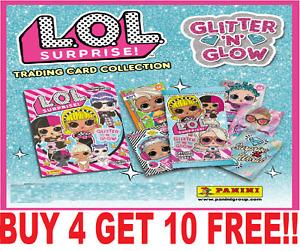 PANINI LOL SURPRISE GLITTER N GLOW ☆ SINGLE CARDS ☆ BUY 4 GET 10 FREE!   (2020)