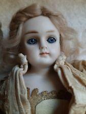 "12"" Closed Mouth Alt Beck Gottschalck 698 Lady Doll Original Wig Pate Clothing"