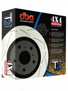 2 x DBA T2 Slotted Rotor FOR MITSUBISHI CHALLENGER PC (DBA2208S)
