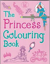Princess Colouring Book, Paperback, New (Quality Paper)