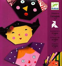 Jeunesse - Initiation à l'Origami - Visages - 4/10 ans - Eds. Djeco