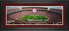"Alabama Crimson Tide Framed 10"" x 30"" Bryant-Denny Stadium Panoramic Photograph"