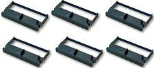 6 black receipt POS printer ink ribbon for Casio TK-6000/6500/7000 Cash Register