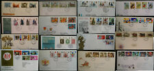 GB First Day Covers & Plain Commemorative FDC Multi 1968 - 1985  From 99p
