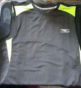 New Bad Boy MMA Tank Top Vest Training workout Gym exercise Sleeveless medium