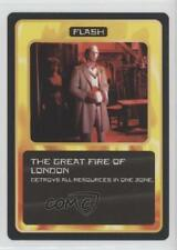 1996 Doctor Who - Collectible Card Game Base #NoN The Great Fires of London 2e7