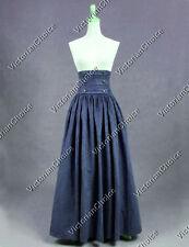 Victorian Edwardian Vintage Walking Skirt Steampunk Theater Clothing N K187 Xxxl