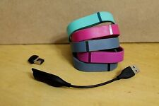 Fitbit, Charging Cord and Multiple Bands. Fitbit Won't Charge. Free Shipping!
